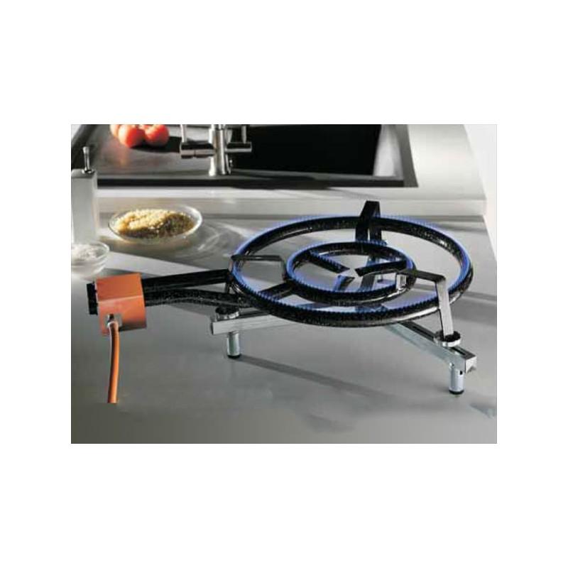 Support con u pour les rechaud gaz garcima de 350 600mm - Rampe a gaz pour paella ...