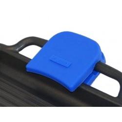 Paire de maniques silicone bleue