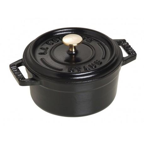 Petite cocotte ronde en fonte maill e staub diam tre 14cm fabrication fra - Cocotte fonte lagostina ...