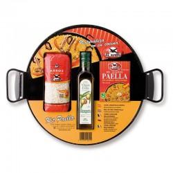 Kit pour Paella avec Poêle émaillée - Bien Cuisiner