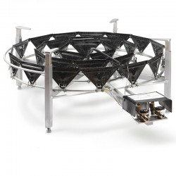Brûleur gaz naturel 900 mm pour micro brasserie