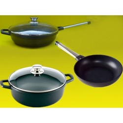 super lot induction 28 Castey™ poele 28 cm sauteuse 28 cm faitout 28cm