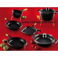 Batterie de cuisine fundix ustensiles de cuisson anti - Batterie de cuisine pour induction ...