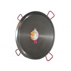 Plat à Paella en acier 115cm