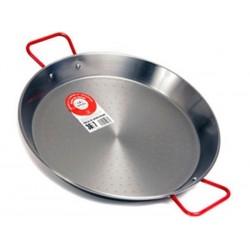 Plat à Paella en acier 80 cm