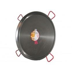 Plat à Paella en acier 90 cm