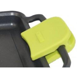 Paire de maniques silicone verte