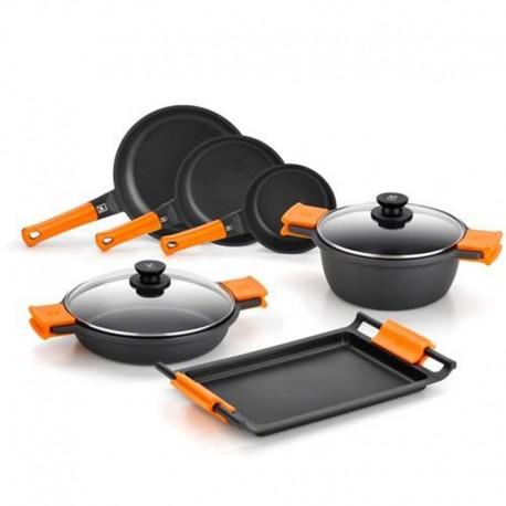 batterie cuisine induction pour 2 4 personnes. Black Bedroom Furniture Sets. Home Design Ideas