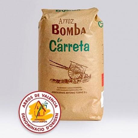 Riz de valence Bomba 1Kg - Certification AOC