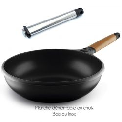Wok induction Castey 28cm