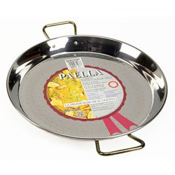 Plat à Paella en inox - 38cm