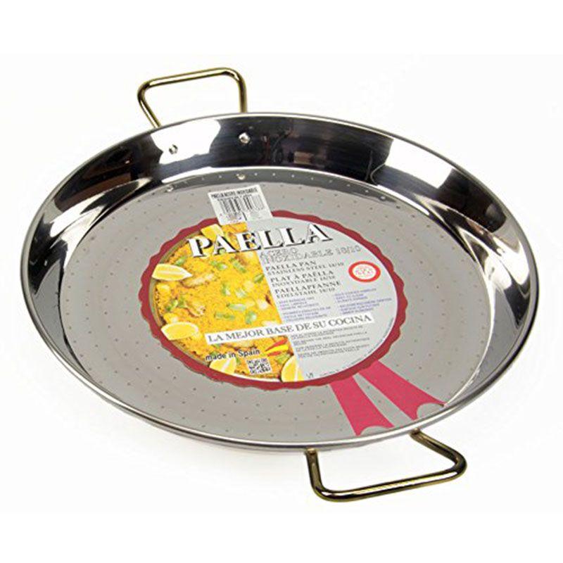 Plat à Paella En Inox 70cm