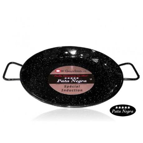 Plat à Paella émaillé 42cm - Spécial induction
