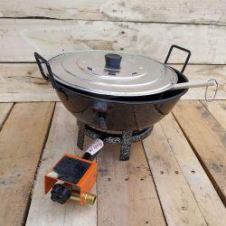 Kit fondue à gaz - 8 litres