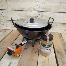 Kit couscous à gaz - 17 litres
