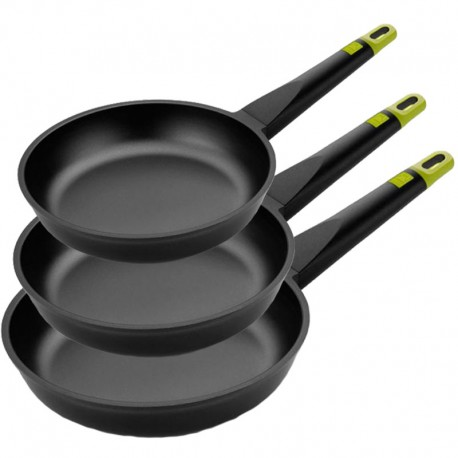 Lot de 3 poêles Induction BRA Foodie