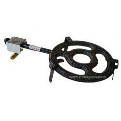 Bruleur à gaz surpuissant 300mm - 10.85kw