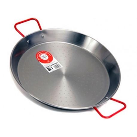 Plat à Paella en acier 50cm