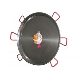 Plat à Paella en acier 130cm